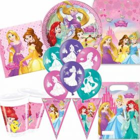 Disney Princess New Design Ultimate Party Supplies Kit for 8