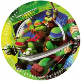 Ninja Turtles Party Plates