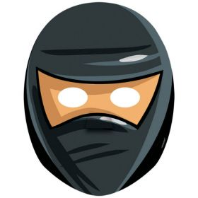 Ninja Paper Masks pk8
