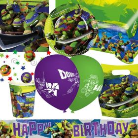 Teenage Mutant Ninja Turtles Ultimate Party Supplies Kit for 8