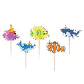 Ocean Buddies Toothpick Candles