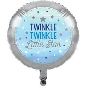 One Little Star - Boy Metallic Foil Balloon 18''