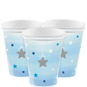 One Little Star - Boy Paper cups pk8