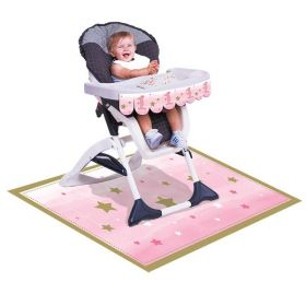 One Little Star - Girl High Chair Kit