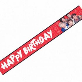 One Direction Foil Party Banner 3.6m