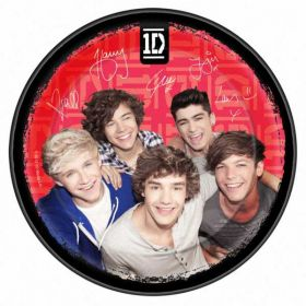 One Direction Party Paper Plates 23cm