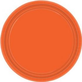 Orange Peel Paper Plates 22.8cm 8pk