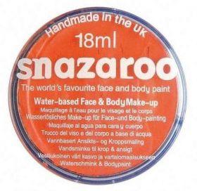 Orange Snazaroo Face Paint Tub