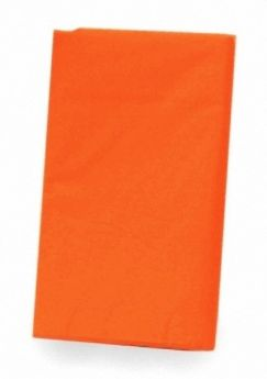 Value Orange Plastic Party tablecover