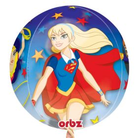 DC Super Hero Girl Orbz Foil Balloon