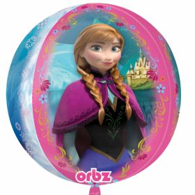 Disney Frozen Orbz Shaped Foil Balloon 18''