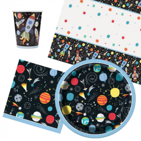 Outer Space Tableware Packs