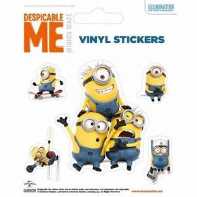 Minions Vinyl Stickers (No. 2)