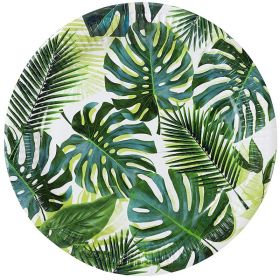 Tropical Fiesta Palm Leaf Paper Plates 23cm, pk8