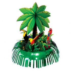 Palm Tree Fringe Party Table Centrepiece