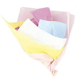 Pastel Coloured Assorted Tissue Paper, pk10