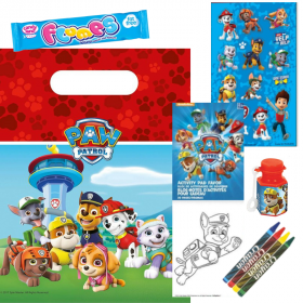 Filled Paw Patrol Party Bags
