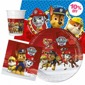 Paw Patrol Party Tableware Pack for 8