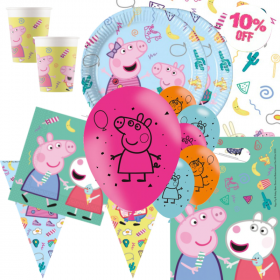 Peppa Pig Messy Play Party Deluxe Party Pack