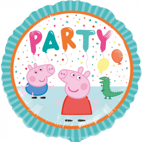 """Peppa Pig 2-sided Foil Balloon 17"""""""