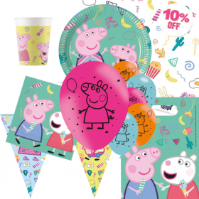 Peppa Pig Messy Play Party Ultimate Pack for 8