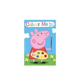 Peppa Pig Mini Colouring Books, pk4