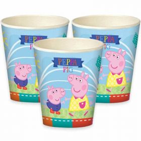 Peppa Pig Party Cups, pk8