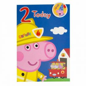 Peppa Pig 'George' birthday card