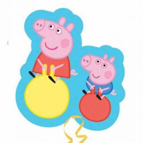 Peppa Pig & George SuperShape Foil Balloon