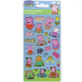 Peppa Pig Golden Boots Sticker Sheet