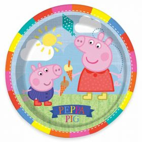 Peppa Pig Paper Party Plates, pk8