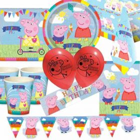 Peppa Pig Ultimate Party Supplies Pack for 8