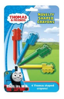 Thomas & Friends Novelty Shaped Crayons
