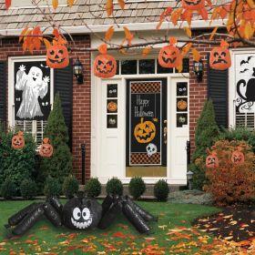 Halloween Pumpkin Leaf Bags