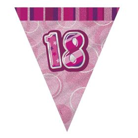 Pink 18th Birthday Party Decorations