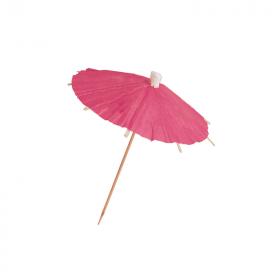 Pink Parasol Food Picks, pk12