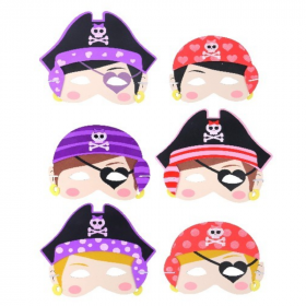 Pirate Girl Eva Soft Mask
