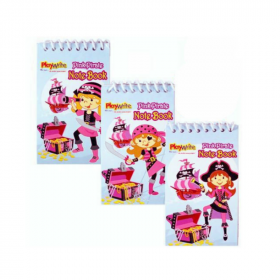 Pink Pirate Notepad