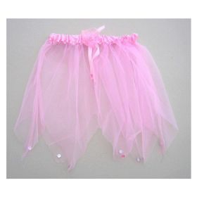 Pink Net Tutu with Stones