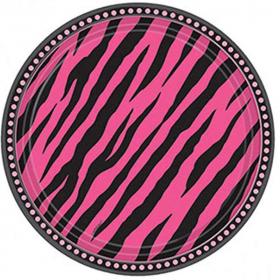 Oh So Fabulous Party Plates 23cm, pk8