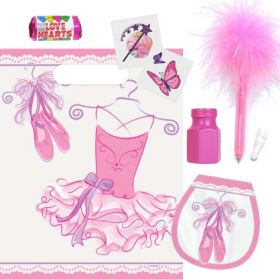 Pink Ballerina Pre Filled Party Bags