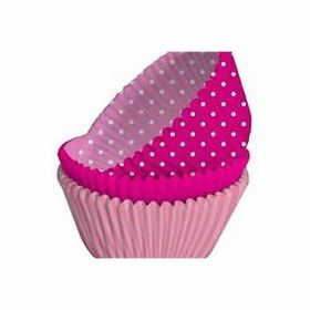 Perfectly Pink Cupcake Cases