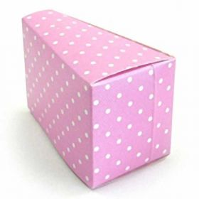 Pink Dot Cake Slice Boxes