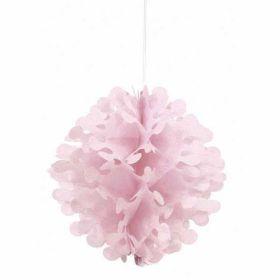 Pink Flutter Ball Decoration