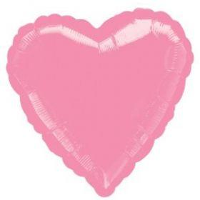 Pink Pearl Heart Foil Balloon