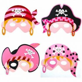Pink Pirate Soft Mask