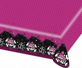 Pink Pirate Buccaneer Plastic Tablecover