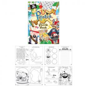 Pirate Fun Puzzle Book