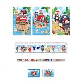 Pirate Stationery Set
