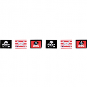 Pirate Treasure Party Flag Banner 3.6m